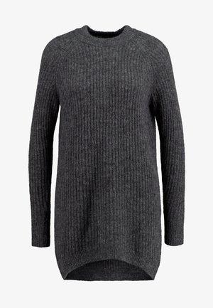 ELLEN - Robe pull - dark grey melange