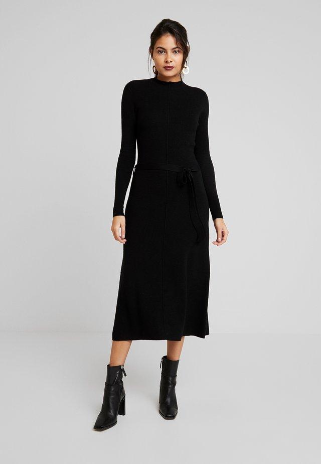 MAKENNA LIKE DRESS - Abito in maglia - black