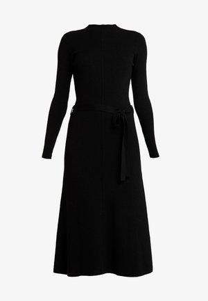MAKENNA LIKE DRESS - Strikket kjole - black