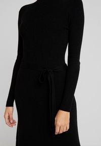 Moss Copenhagen - MAKENNA LIKE DRESS - Jumper dress - black - 5