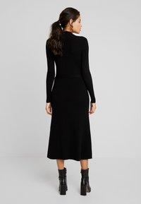 Moss Copenhagen - MAKENNA LIKE DRESS - Jumper dress - black - 2