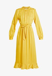 Moss Copenhagen - NENNA DRESS - Skjortekjole - yellow - 5