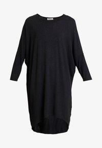 Moss Copenhagen - TILDE DRESS - Jerseyjurk - mottled dark grey - 5