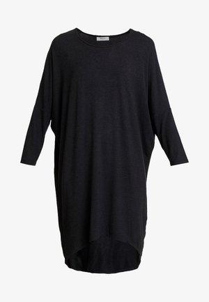 TILDE DRESS - Robe en jersey - mottled dark grey