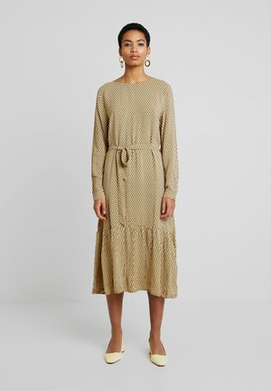 CHARLOTTE MOROCCO DRESS - Kjole - yellow/black/white