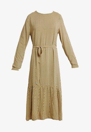 CHARLOTTE MOROCCO DRESS - Denní šaty - yellow/black/white
