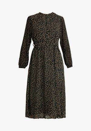 AUDRINA DRESS - Košilové šaty - black/yellow