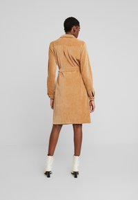 Moss Copenhagen - FLORINA DRESS - Shirt dress - tigers eye - 3