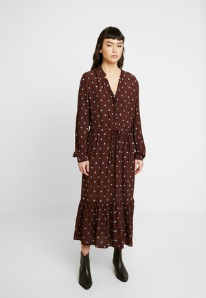 RYLIE MOROCCO DRESS - Kjole - dark brown