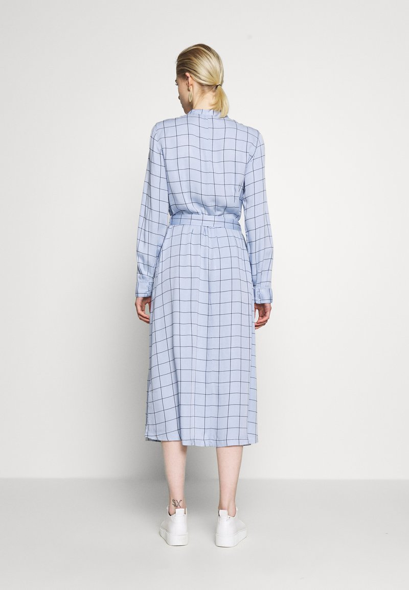 Moss Copenhagen - MELINE ALANA DRESS  - Košilové šaty - light blue