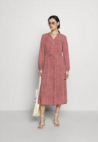 Moss Copenhagen - RIKKELIE - Vestido informal - light pink - 1
