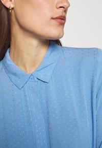 Moss Copenhagen - KAROLINA SHIRT DRESS - Shirt dress - blue - 5