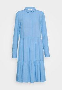 Moss Copenhagen - KAROLINA SHIRT DRESS - Shirt dress - blue - 4