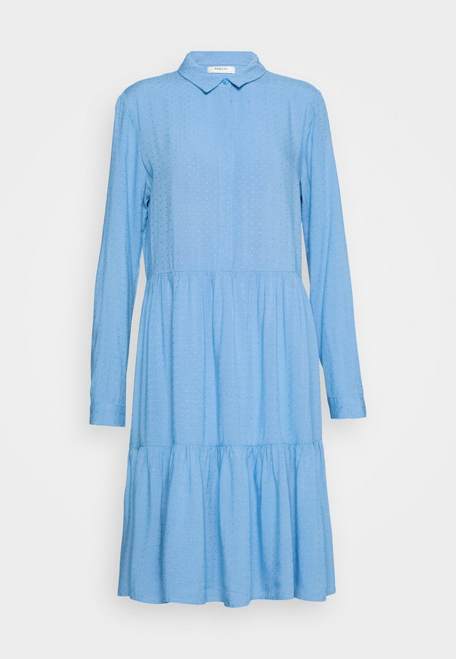 KAROLINA SHIRT DRESS - Shirt dress - blue