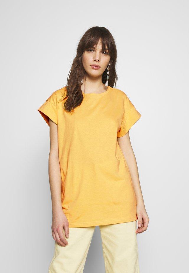 ALVA PLAIN TEE - T-Shirt basic - jojoba