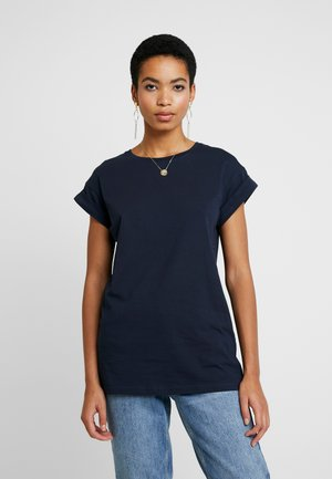 ALVA PLAIN TEE - Basic T-shirt - sky captain