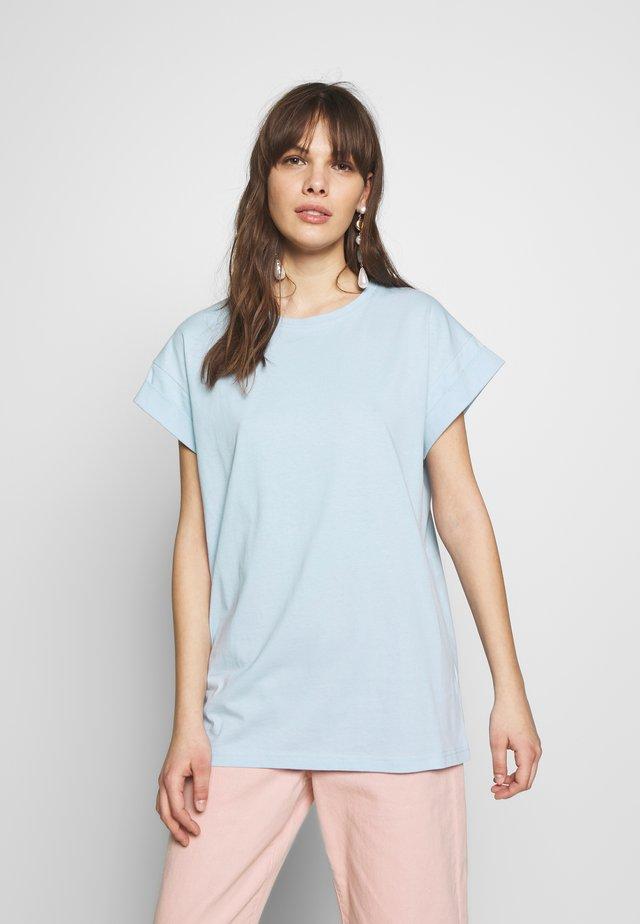 ALVA PLAIN TEE - T-Shirt basic - cashmere blue
