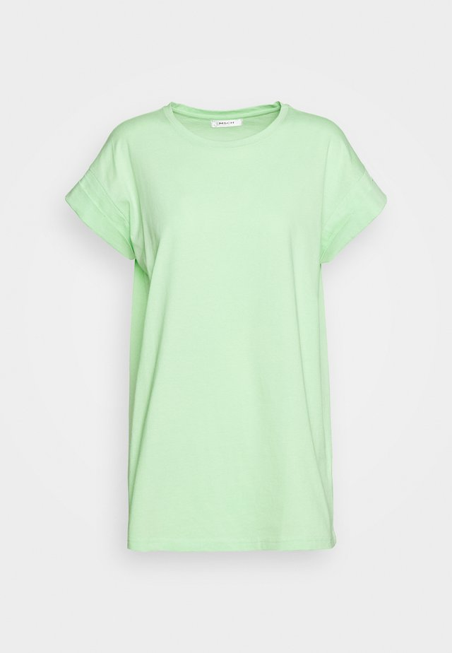 ALVA PLAIN TEE - Basic T-shirt - pistachio green