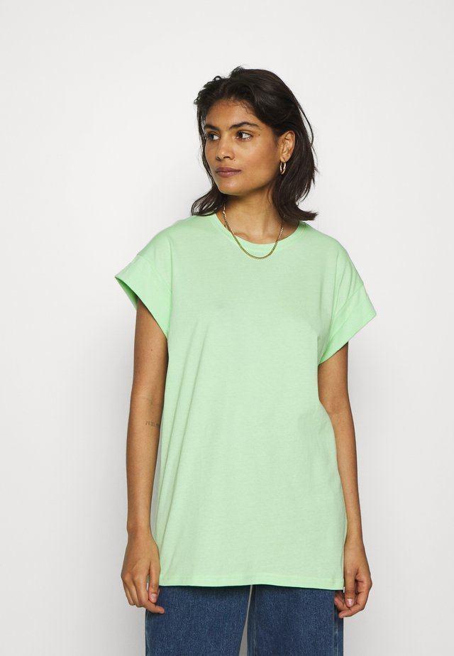 ALVA PLAIN TEE - T-Shirt basic - pistachio green