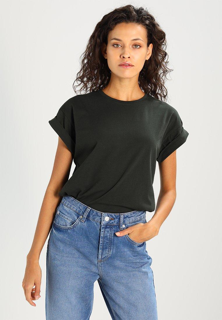 Moss Copenhagen - ALVA PLAIN TEE - T-Shirt basic - rosin