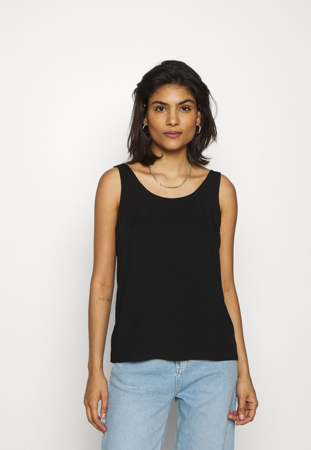 ALANI BEACH - Bluse - black