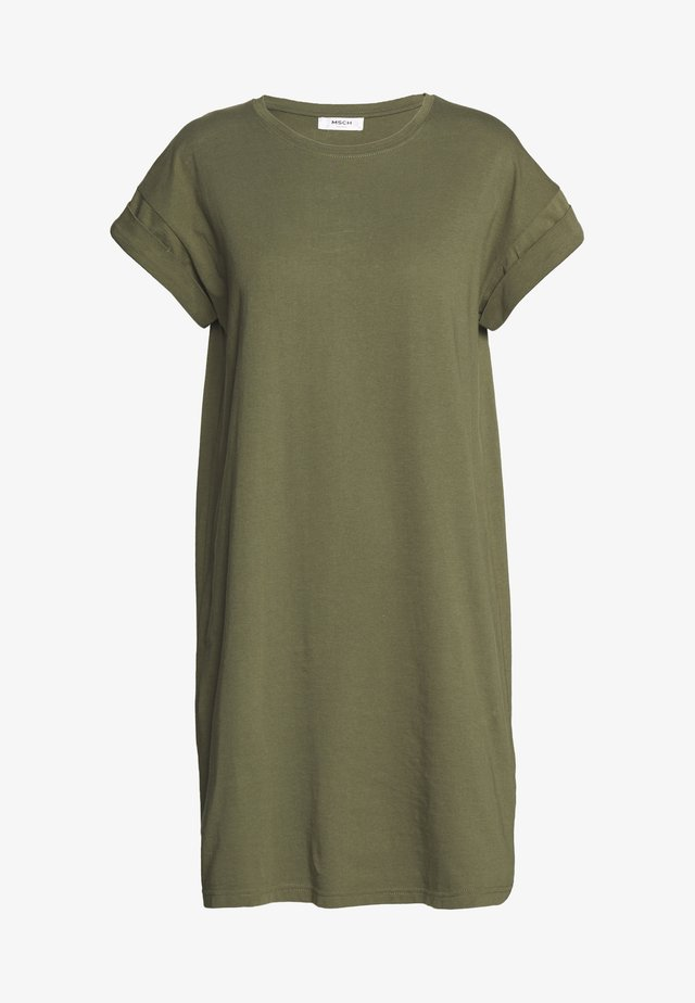 ALVIDERA ADDI PLAIN DRESS - Trikoomekko - kalamata
