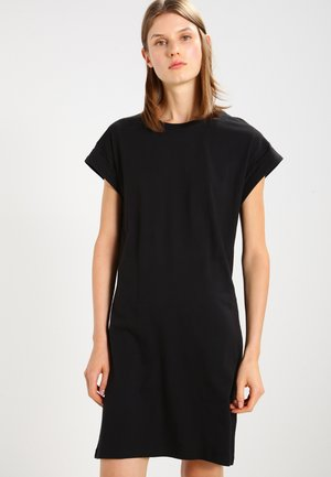 ALVIDERA ADDI PLAIN DRESS - Jerseyjurk - black