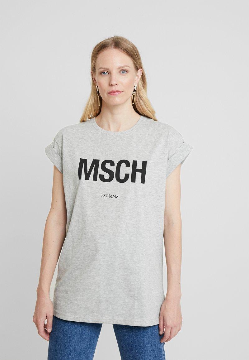 Moss Copenhagen - ALVA EST TEE - Print T-shirt - black