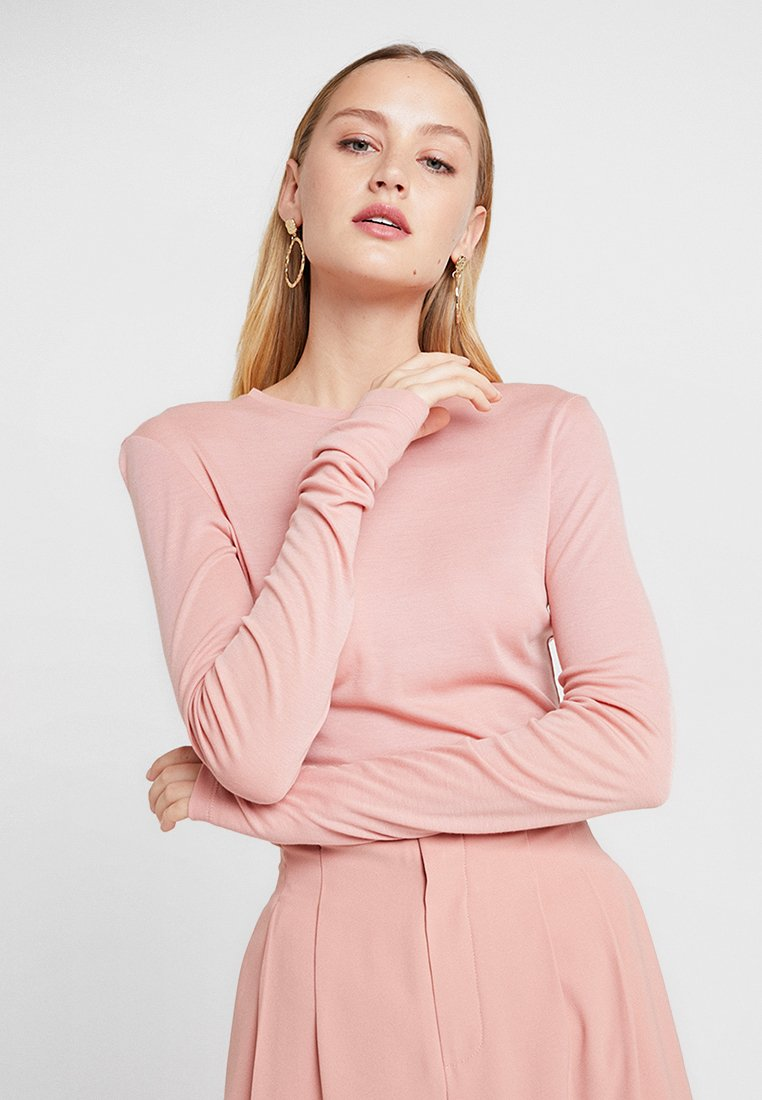 Moss Copenhagen - MONA - Long sleeved top - rose dawn