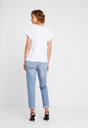 ALVA TEE - T-shirts - white