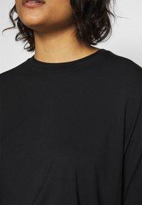 Moss Copenhagen - ANIKA TEE - T-shirts - black - 5