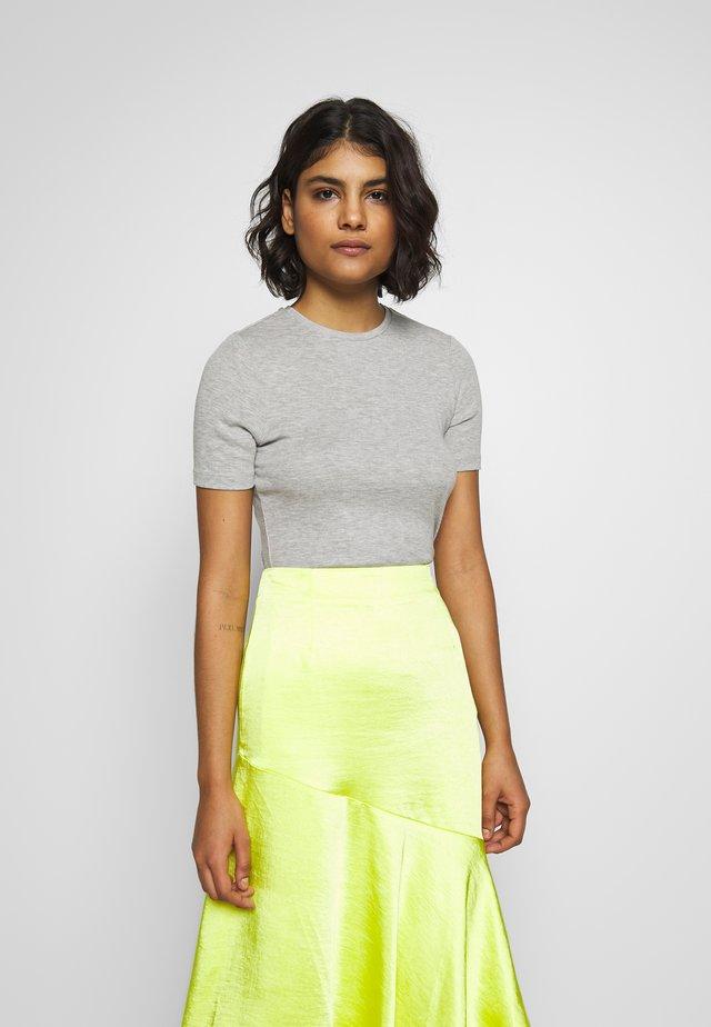 MONA TEE - T-Shirt basic - light grey