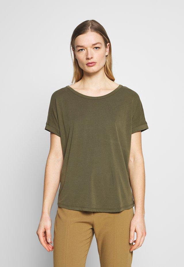FENYA TEE - T-shirt basique - grape leaf