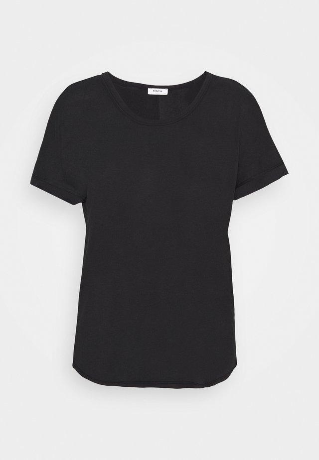 FENYA TEE - T-shirt basique - black