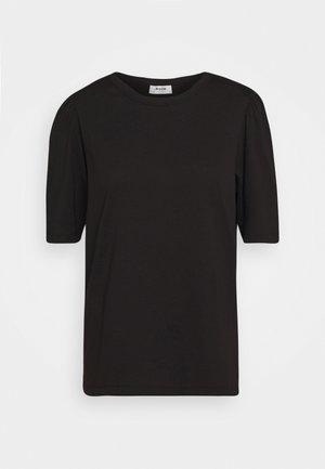 ALVA PUFF TEE - T-shirts med print - black