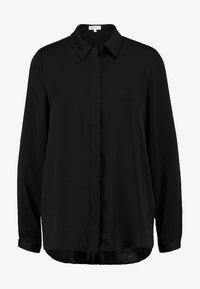 Moss Copenhagen - BLAIR - Button-down blouse - black - 4