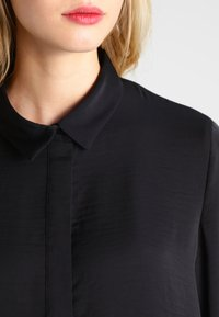 Moss Copenhagen - BLAIR - Button-down blouse - black - 3