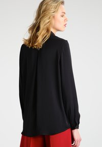 Moss Copenhagen - BLAIR - Button-down blouse - black - 2