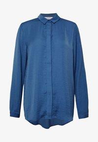Moss Copenhagen - SEASONAL BLOUSE - Skjorte - blue horizon - 3