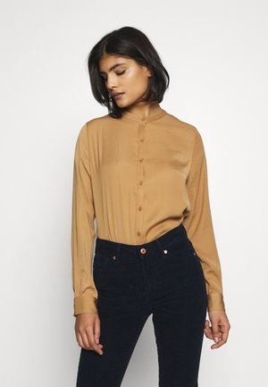 LUELLA SEASONAL POLYSILK - Blouse - tobacco brown