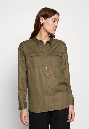 MAIRA ROSANNA SHIRT - Bluser - dark green