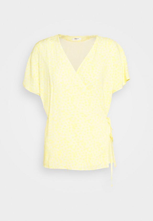 ISALIE TURID WRAP - Bluzka - yellow