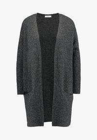 Moss Copenhagen - VIRA CARDIGAN - Vest - mottled dark grey - 4
