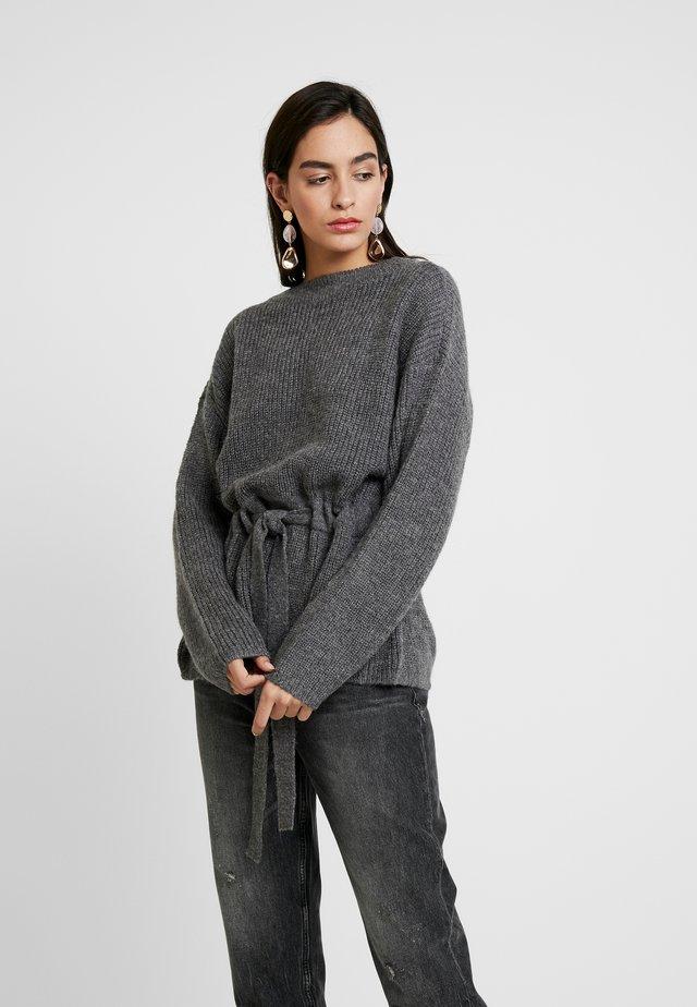 MAJA ARC - Strickpullover - dark grey