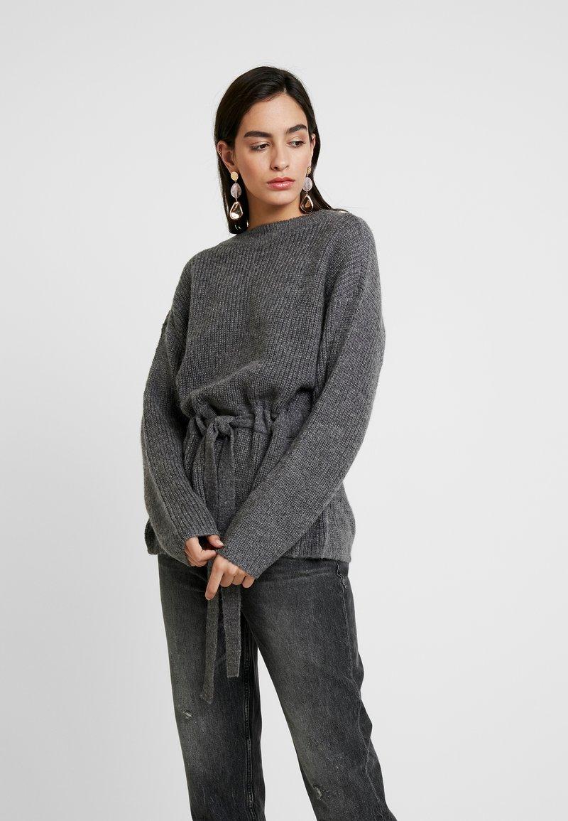 Moss Copenhagen - MAJA ARC - Jumper - dark grey