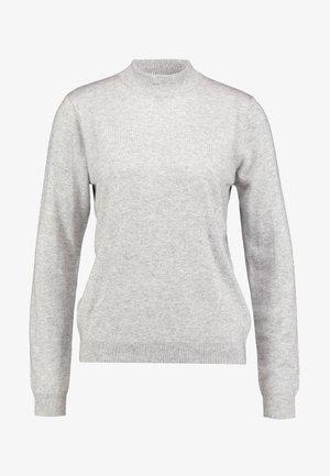 JAZEE - Strikkegenser - mottled light grey