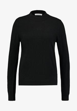 JAZEE - Strikkegenser - black