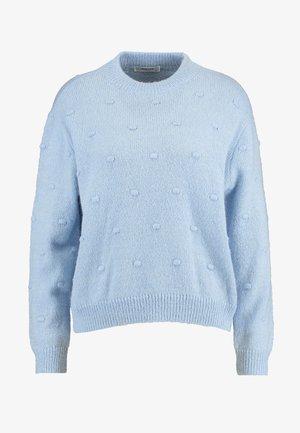 JUNEA - Strikkegenser - cashmere blue