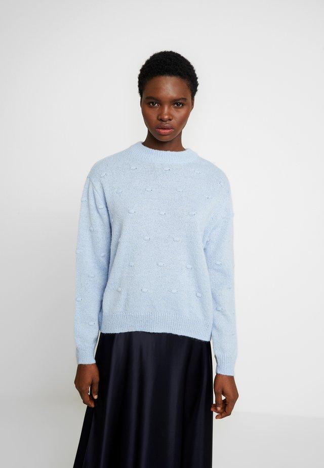 JUNEA - Strickpullover - cashmere blue