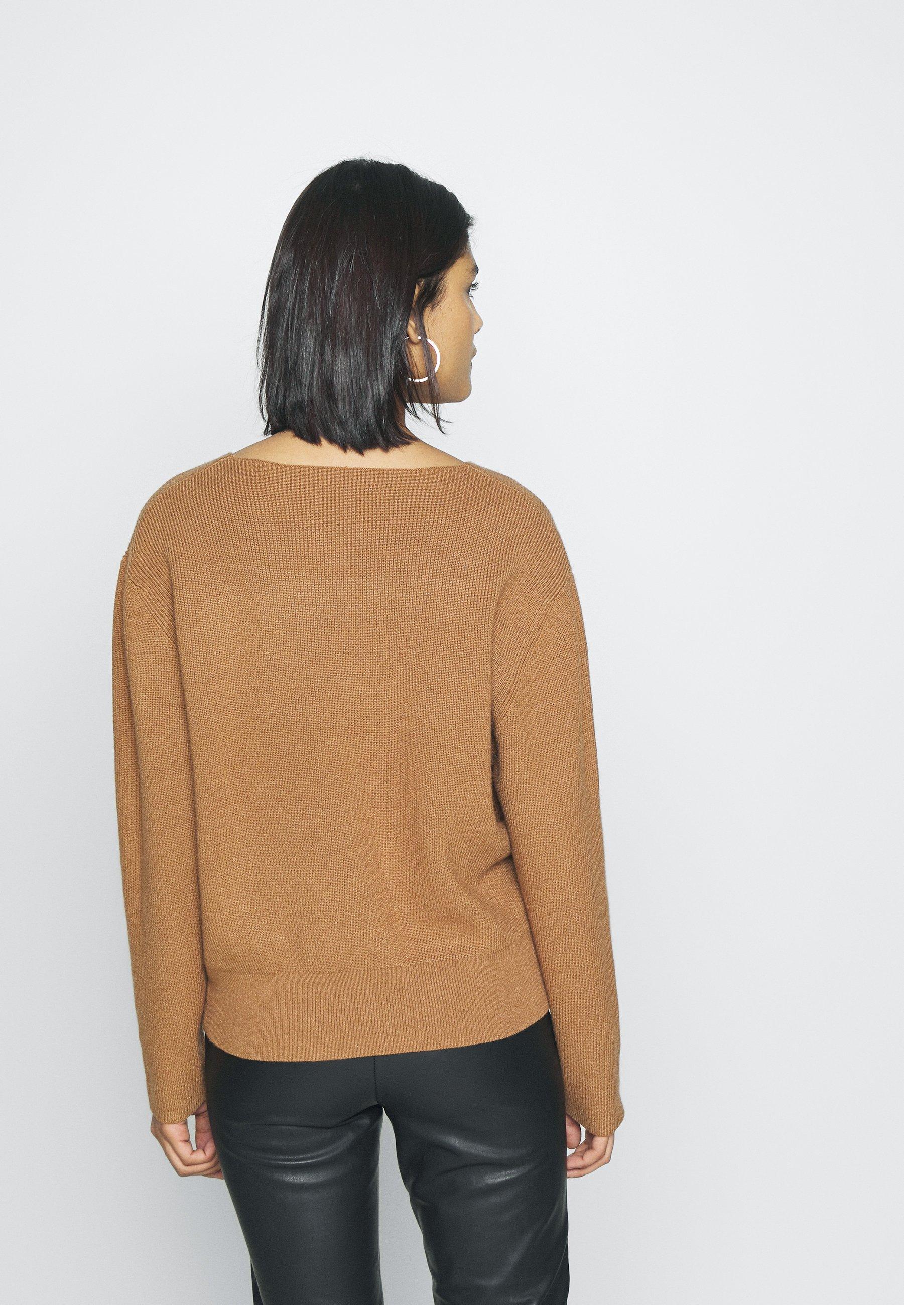 Moss Copenhagen JILLI - Maglione - tobacco brown